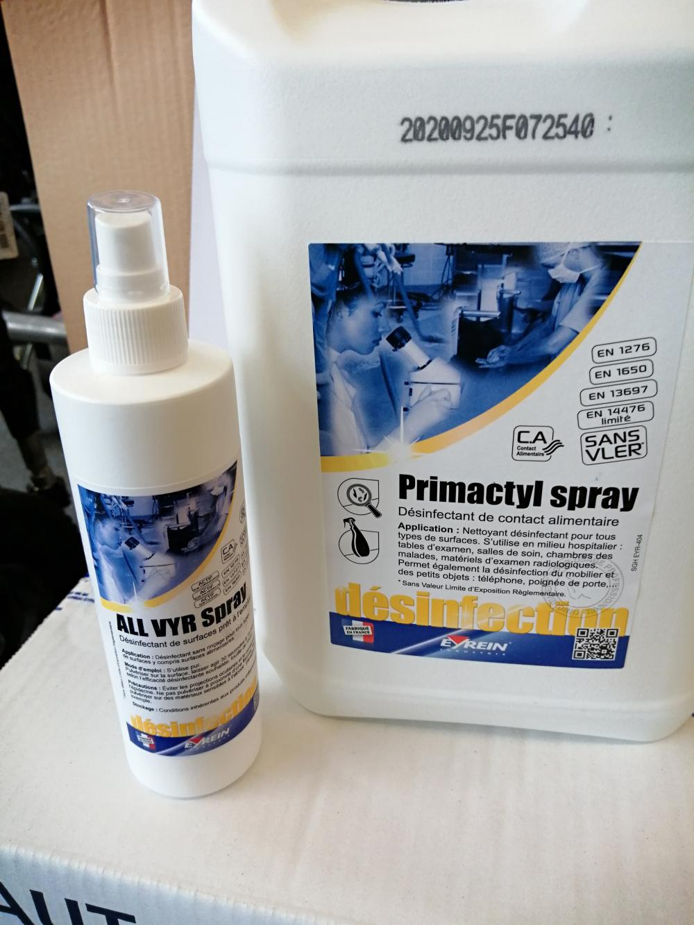 ALL VYR SPRAY 250ml